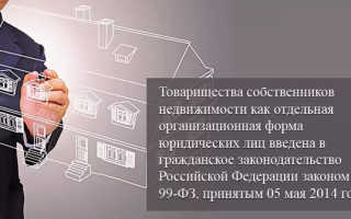 Товарищество собственников недвижимости и жилья